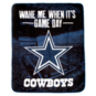 Dallas Cowboys Wake Me When It's Game Day Blanket