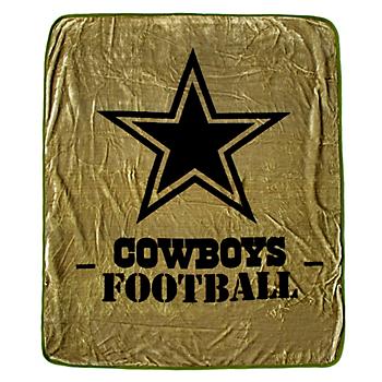 Dallas Cowboys Silk Touch Raschel Throw