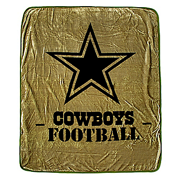 Dallas Cowboys Silk Touch Raschel Throw