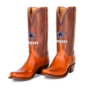 Dallas Cowboys Lucchese Mens Cognac Jersey Calf Boots