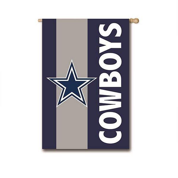 Dallas Cowboys 3x5 Embellished Flag