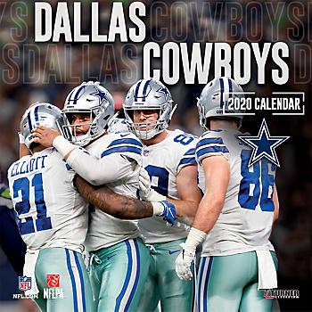 2020 12x12 Dallas Cowboys Team Wall Calendar