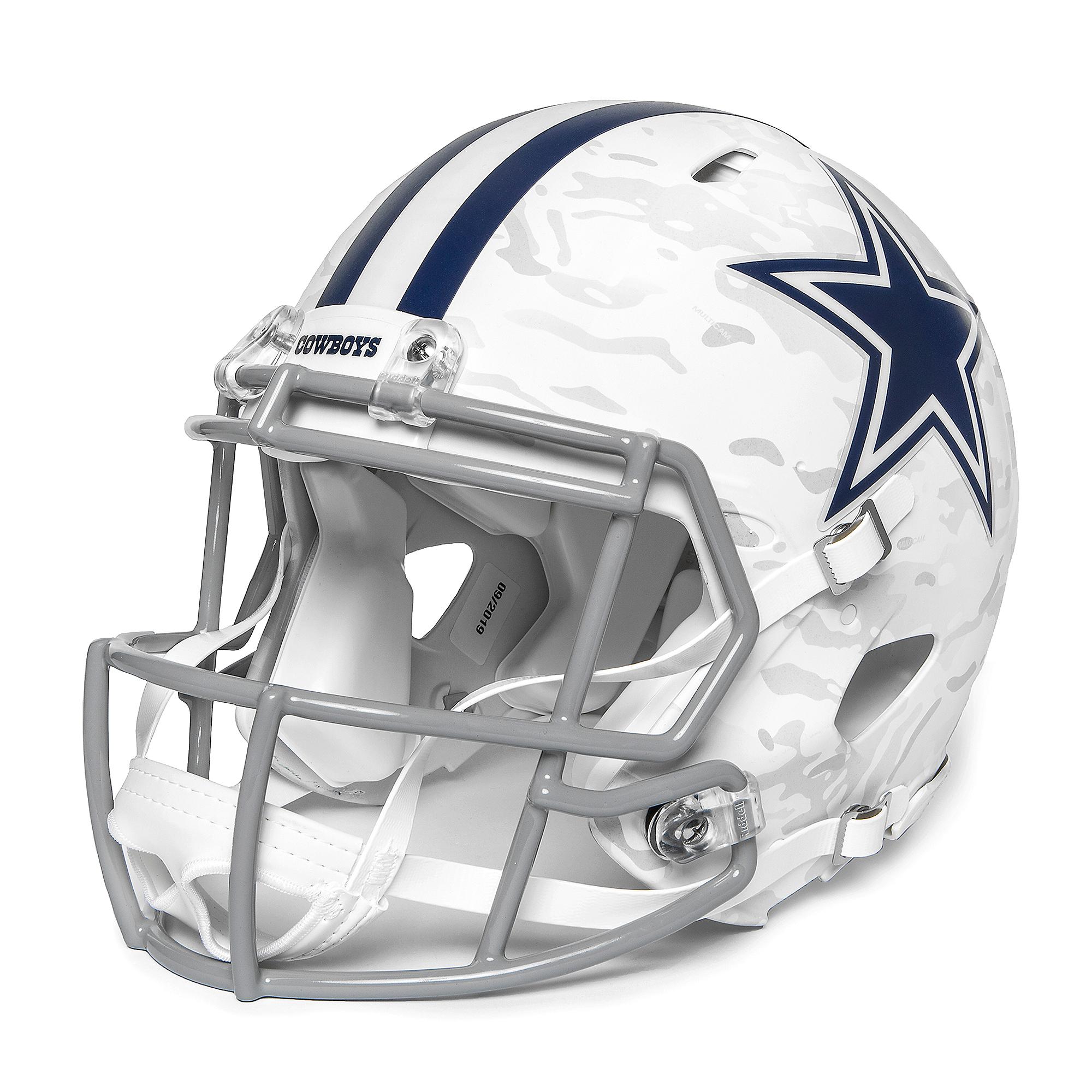 Dallas Cowboys Riddell Arctic Camo Speed Authentic Helmet