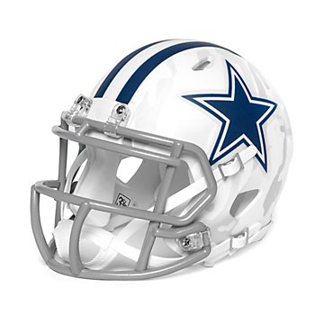 Dallas Cowboys Riddell Arctic Camo Speed Mini Helmet