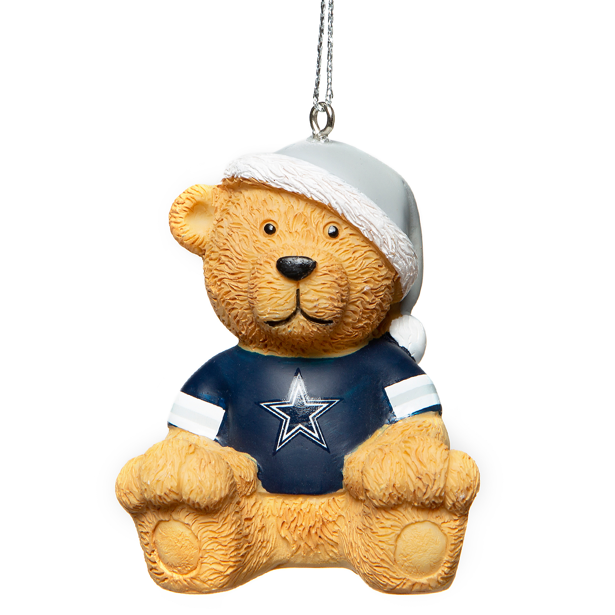 Dallas Cowboys Jersey Bear Ornament