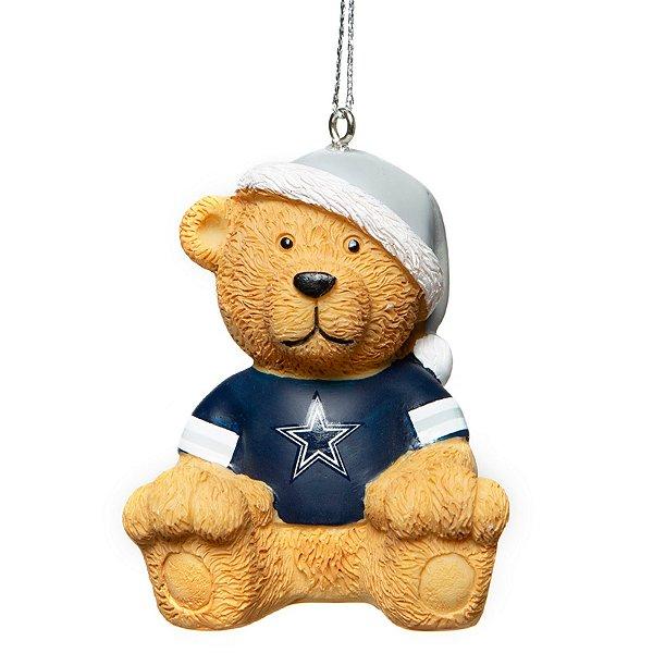 Dallas Cowboys Jersey Bear Ornament
