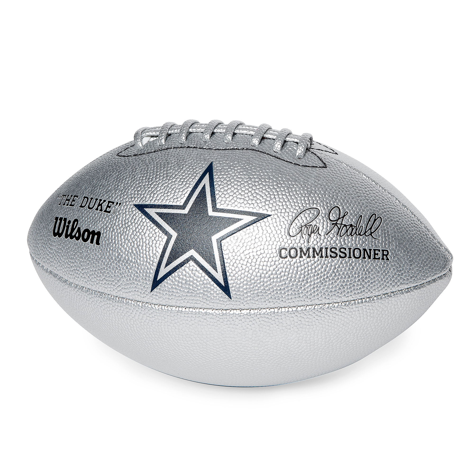 Dallas Cowboys Special Edition Silver Football