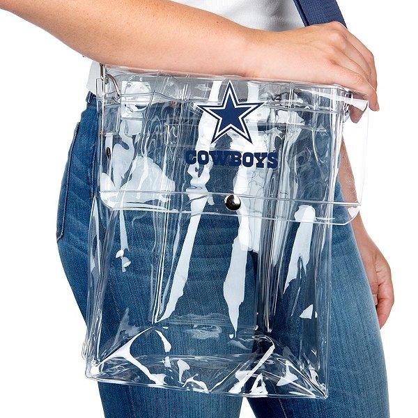 Dallas Cowboys Clear Ticket Satchel