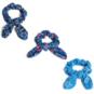 Dallas Cowboys 3-Pack Bow Scrunchie