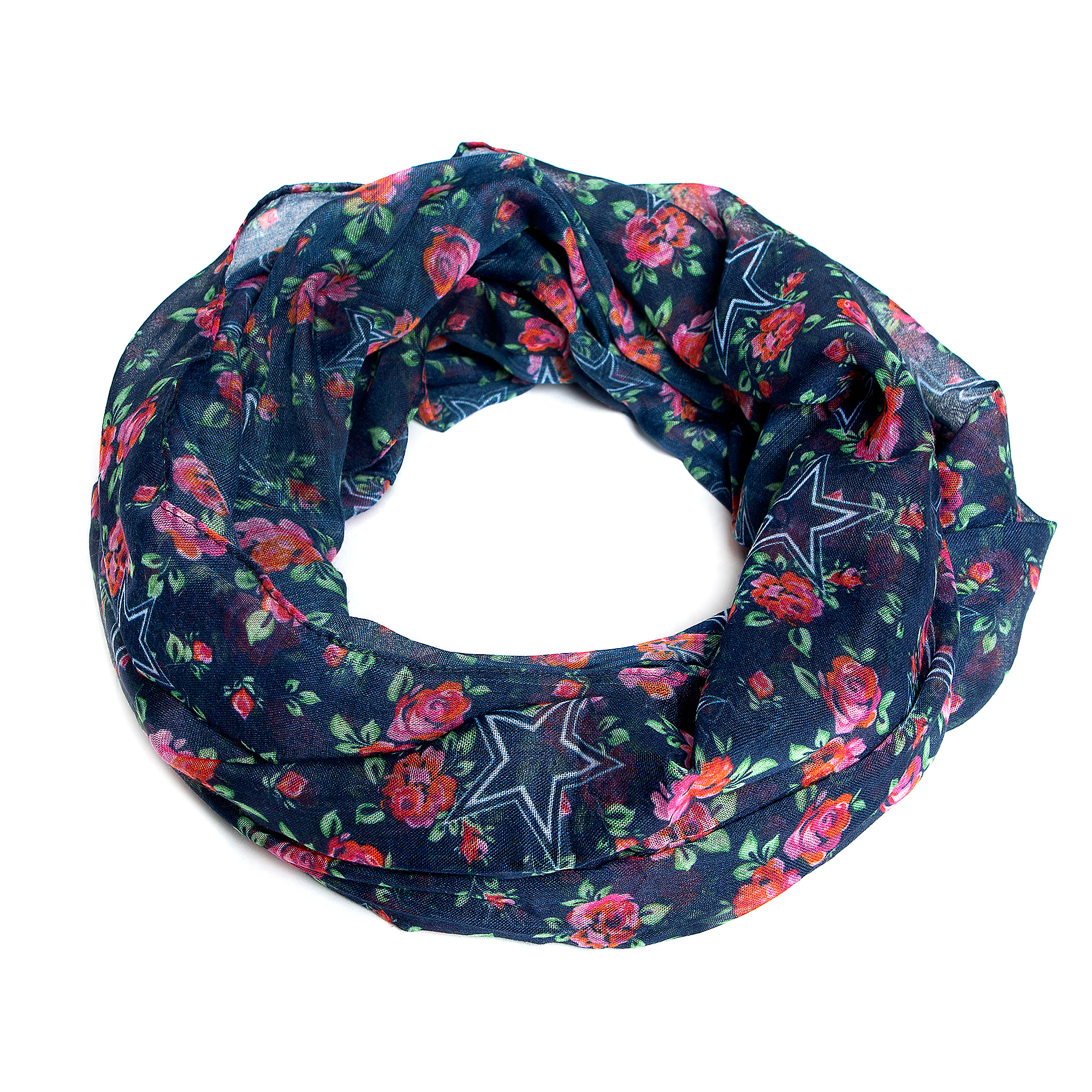 Dallas Cowboys Floral Printed Scarf
