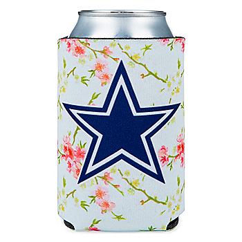 Dallas Cowboys Studio Floral Can Cooler
