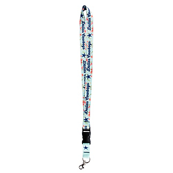 Dallas Cowboys Studio Floral Double Sided Lanyard