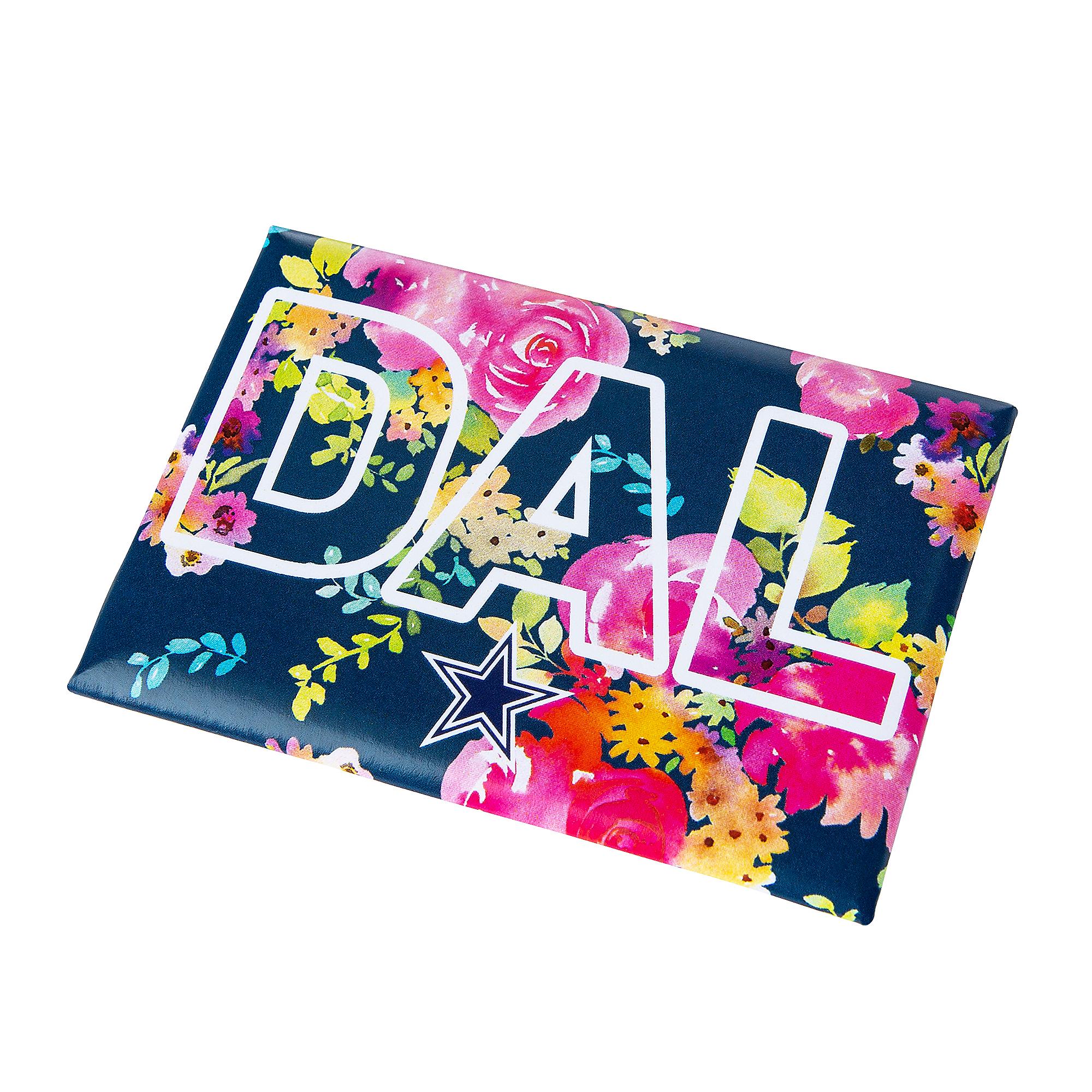 6a67f491 Dallas Cowboys Floral TX Magnet