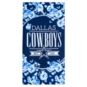Dallas Cowboys Floral Beach Towel