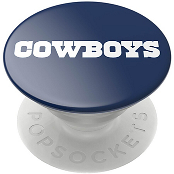 Dallas Cowboys Popsocket Logo Gloss Cell Phone Stand