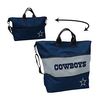 Dallas Cowboys Crosshatch Expandable Tote