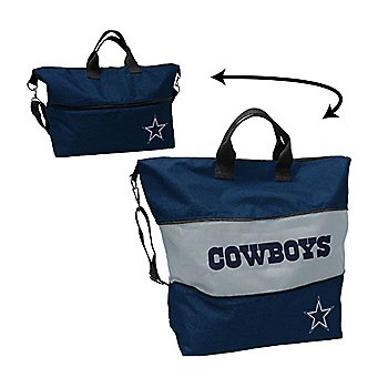 Dallas Cowboys Crosshatch Expandable Tote
