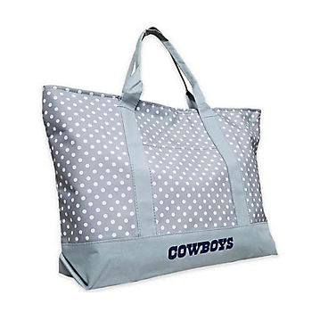 Dallas Cowboys Dot Print Tote
