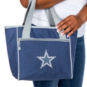 Dallas Cowboys Crosshatch 16 Can Cooler Tote