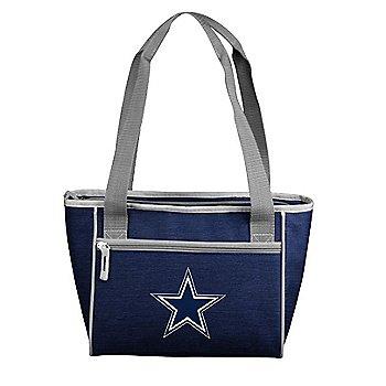 Dallas Cowboys Crosshatch 16 Can Cooler Tote