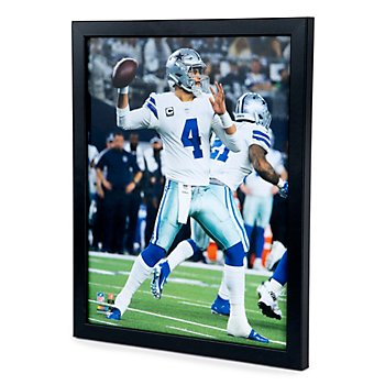 Dallas Cowboys 11x14 Dak Prescott Action Photo Frame