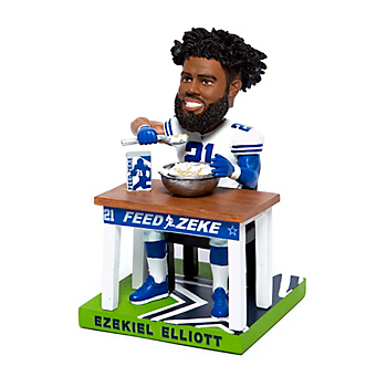 "Dallas Cowboys 10"" Ezekiel Elliott Cereal Bobblehead"