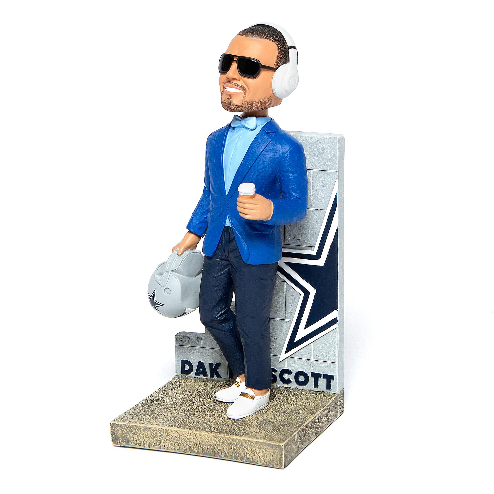"""Dallas Cowboys 10"""" Dak Prescott Swag Bobblehead"""