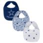 Dallas Cowboys All Pro Baby Bib 3-Pack Set