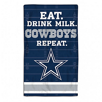 Dallas Cowboys All Pro Baby Burp Cloth