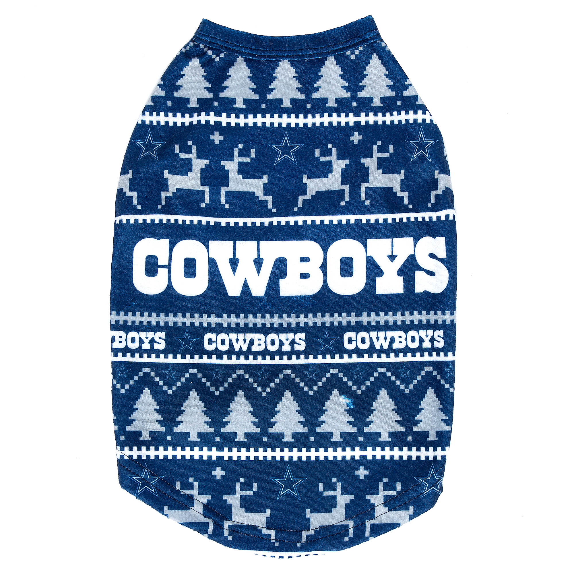 Dallas Cowboys Family Holiday Dog Pajama Sweater