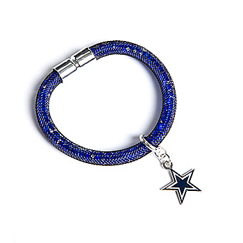 Dallas Cowboys Elastic Cord Bracelet With Magnet