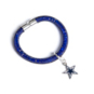 Dallas Cowboys Elastic Cord Bracelet With Magnet