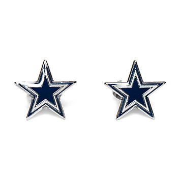 Dallas Cowboys Star Post Earrings