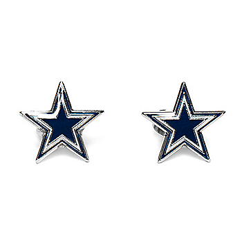 Dallas Cowboys Star Post Earrings