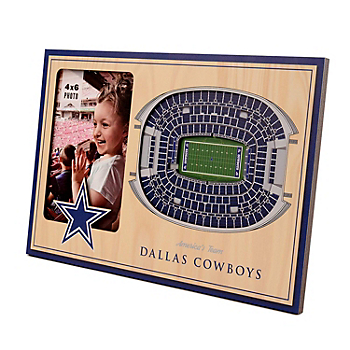 Dallas Cowboys 3D Stadium Frame