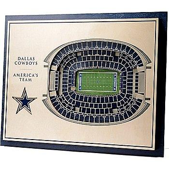 Dallas Cowboys 3D Stadium Wall Art