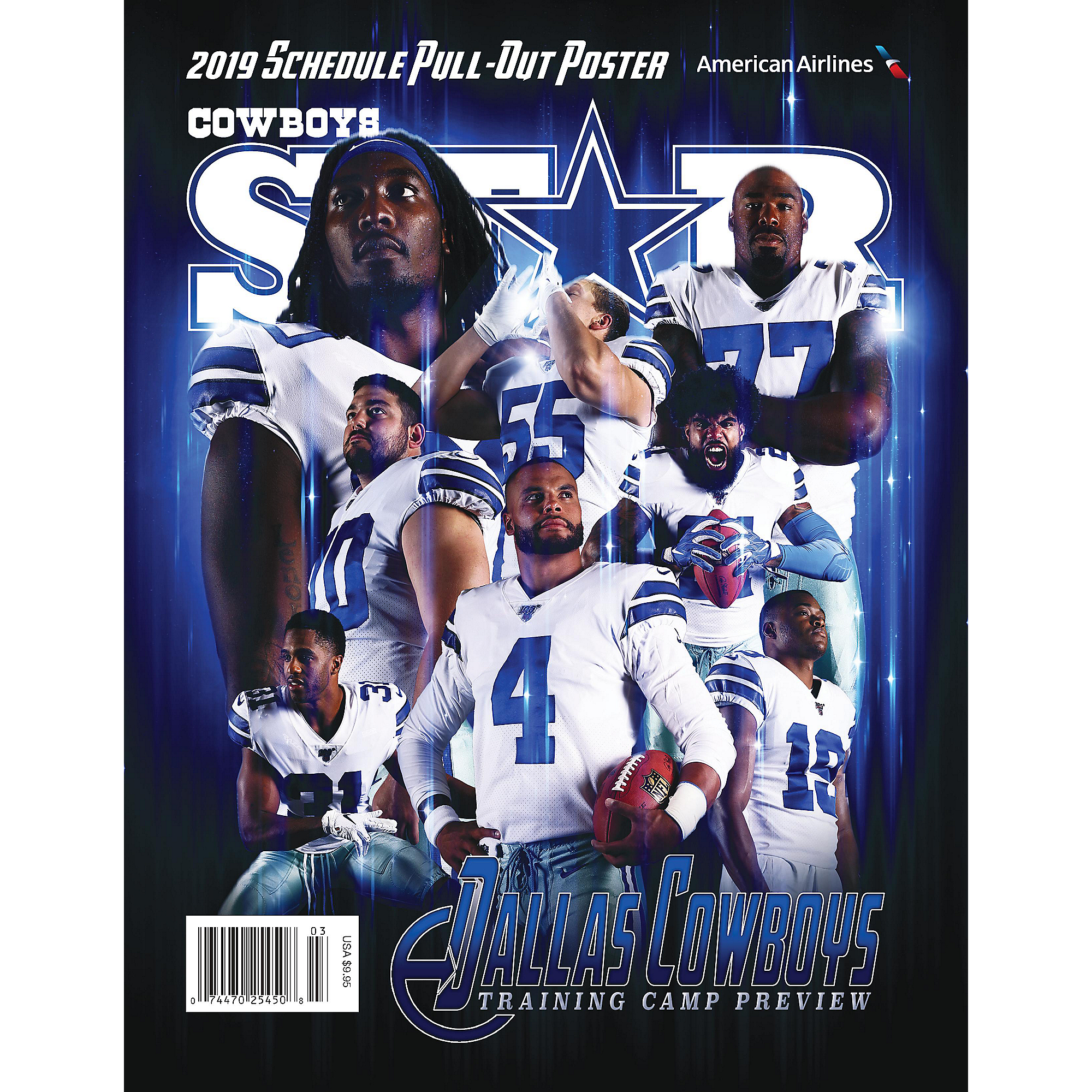 Dallas Cowboys Star Magazine Training Camp Preview 2019