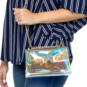 Studio Gemelli Roxie Holographic Flap Over Handbag