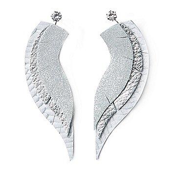 Clever Bear Leathers Angel Wings Earrings