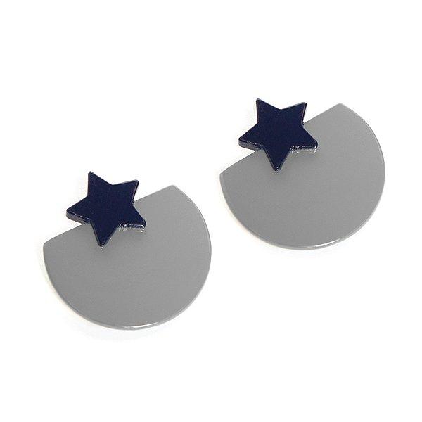 Sunshine Tienda Buffalo Horn Bella Silver Earrings