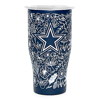 Dallas Cowboys Orca 27 oz. Floral Chaser Tumbler