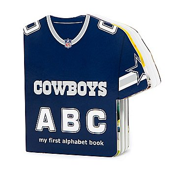 Dallas Cowboys ABC My First Alphabet Book
