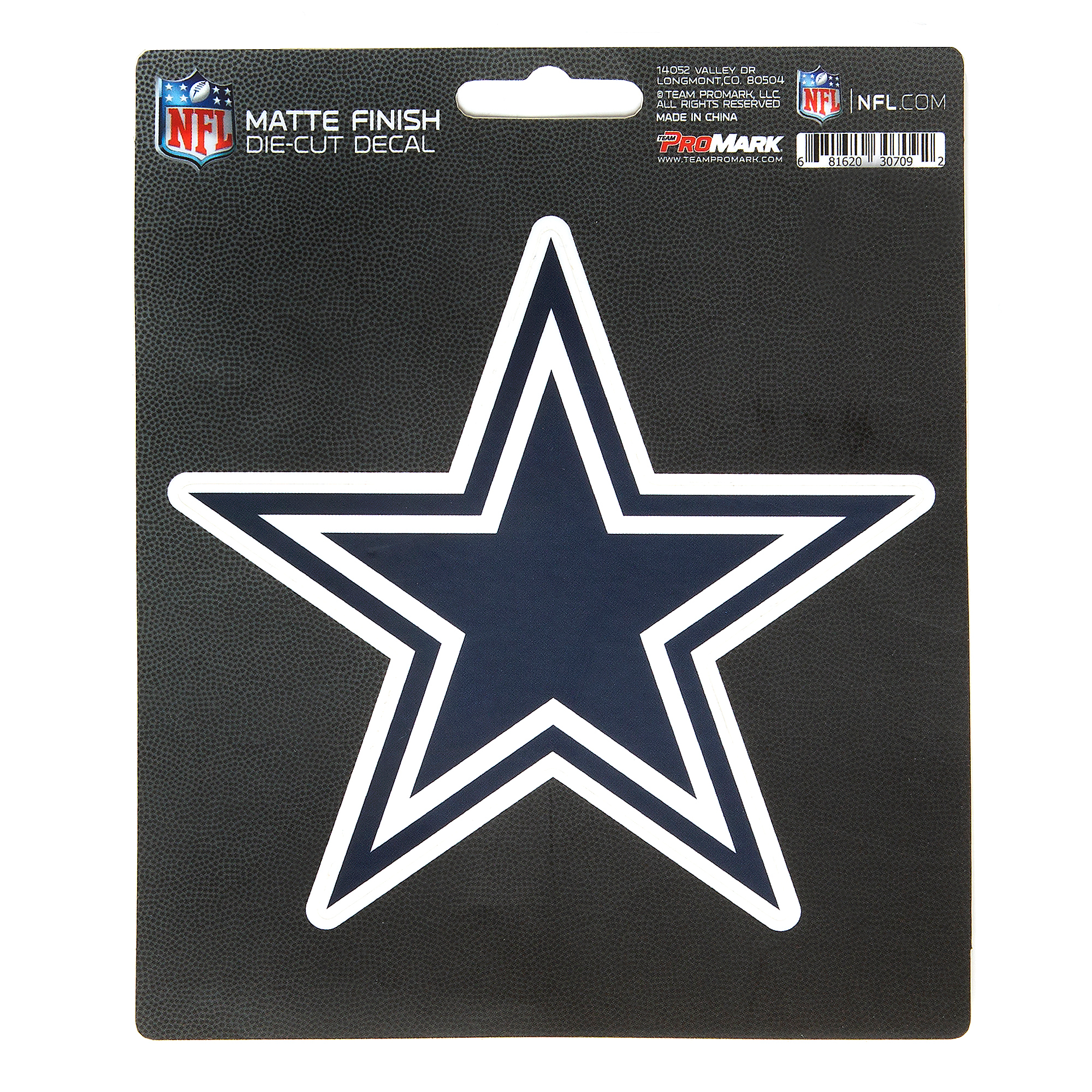 Dallas Cowboys Matte Logo Decal