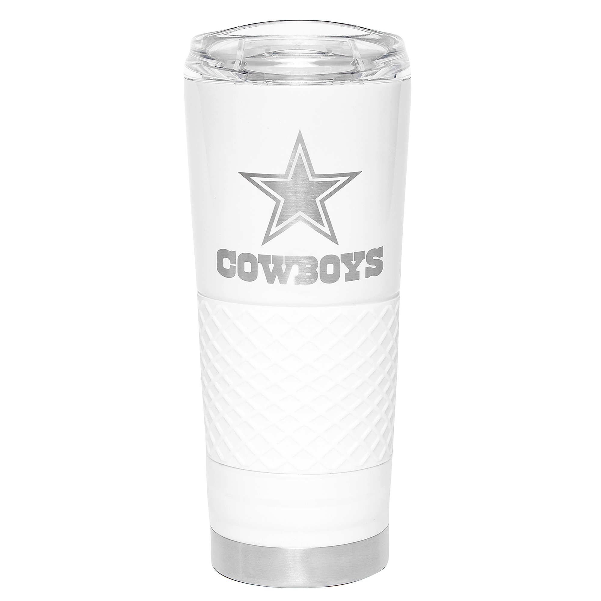 Dallas Cowboys The Draft 24 oz Pearl Vacuum Insulated Tumbler