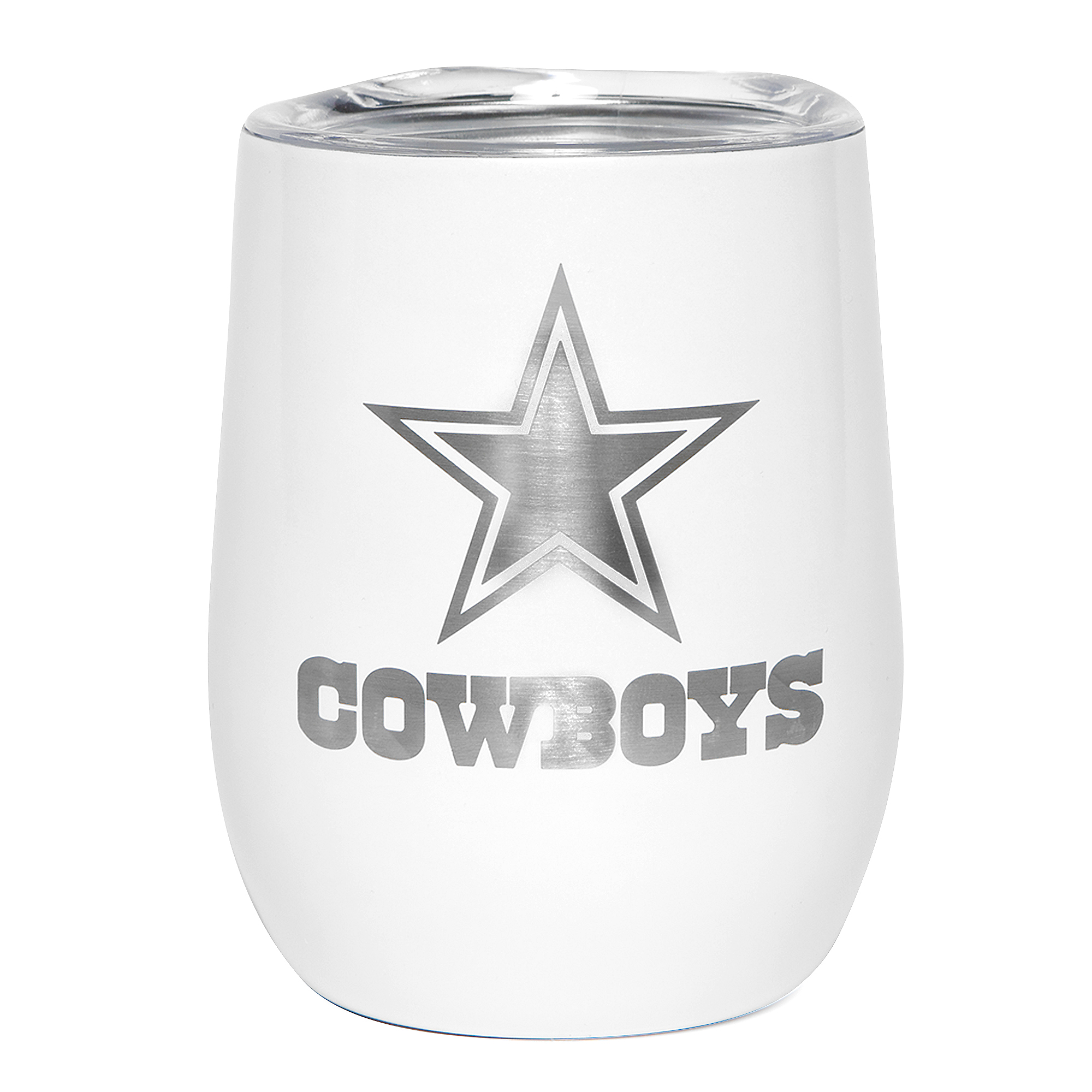 Dallas Cowboys 10 oz. Pearl Wine Tumbler