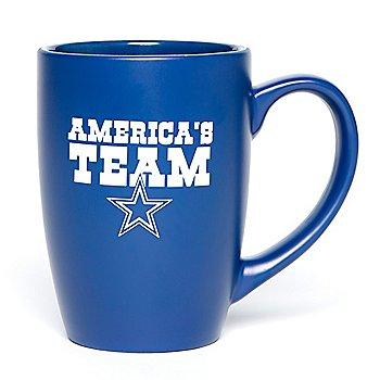 Dallas Cowboys America's Team Bistro Mug