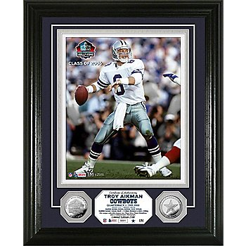 Dallas Cowboys Troy Aikman Legend Photo Mint