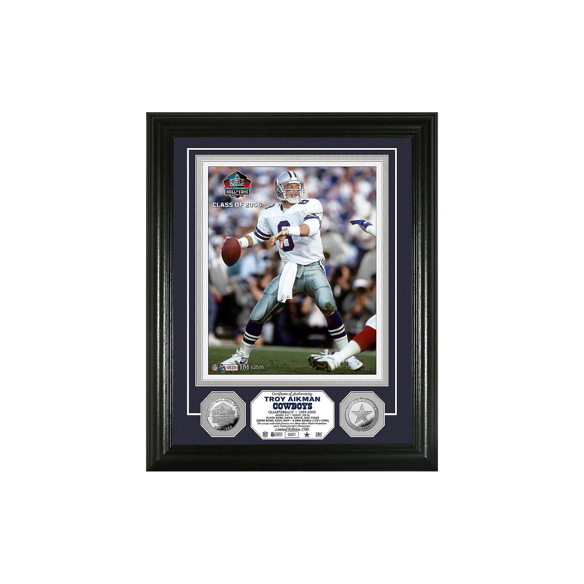 Dallas Cowboys Troy Aikman Legend Photo Mint
