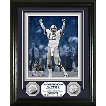 Dallas Cowboys Roger Staubach Legend Photo Mint