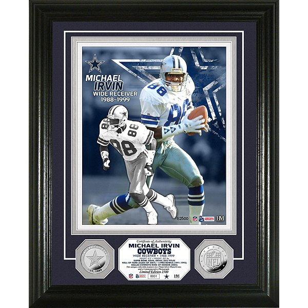 Dallas Cowboys Michael Irvin Legend Photo Mint